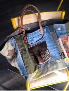 Idée pour un sac en jean