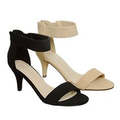 Low Heel Ankle Strap Sandals ** You can get more details at http://www.amazon.com/gp/product/B00XDG6UBG/?tag=passion4fashion003e-20&cd=050816054332