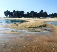 Kolka: When two seas meet #balticsea #northsea #latvia North Sea, Baltic Sea, Seas, River, Outdoor, Outdoors, Outdoor Games, The Great Outdoors, Rivers
