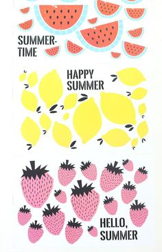Free Printable Summer Placemats
