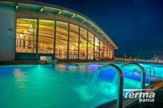 Thermal Pool in Bialka Tatrzanska // Thermal Pool, Poland, Spa, Places, Outdoor Decor, Travel, Image, Pools, Winter