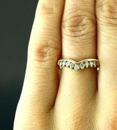 Royal Vintage Crown Nine Diamond 14k Gold by kissmevintage on Etsy, $379.00