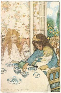 Tea-with-Jessie Willcox Smith  1904