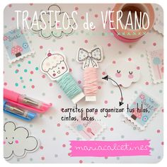 Handmade Stationery Love and Party Decoration from MariaCalcetines Blog