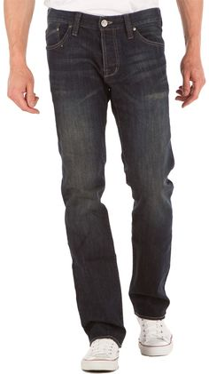 Issac Relaxed Straight Jeans