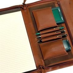 Leather Padfolios Step Up to Serious Folder Quality