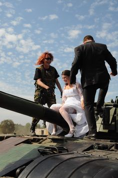 Poland Польша Borne Sulinowo Борн Сулиново militaria ślub panna młoda
