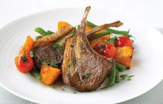 Lamb and butternut squash - nice autumnal combination