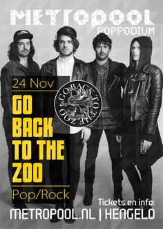24 nov Go Back To The Zoo