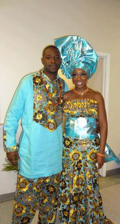 African Love. (Nigerian Bride (Igbo) and Ghanaian Groom) ♥