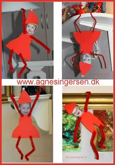 Christmas Crafts for outside nice kravlenisser fra - christmascrafts Preschool Christmas, Christmas Activities, Christmas Art, Christmas Projects, Winter Christmas, Holiday Crafts, Holiday Fun, Christmas Gifts, Christmas Decorations