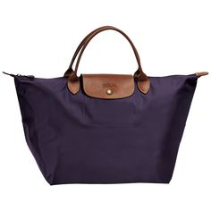 Longchamp Le Pliage Handbag M Bilberry