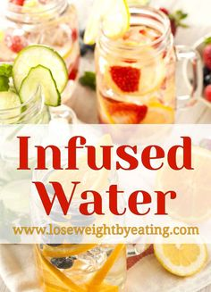 Drinking fruit infused water is the best way to detox your body and lose weight. These delicious fruit infused water drinks are refreshing and kid friendly!