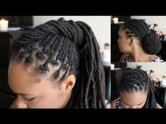 Loc styles for interviews or a professional setting