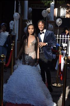 Source by crownme_bitxch dresses black girls slay kids S. - Source by crownme_bitxch dresses black girls slay kids Source by MartinaGrahamDresses dresses black girls slay Source by ZoilaBradtkeIdeas - Black Girl Prom Dresses, Pretty Prom Dresses, Prom Dresses Two Piece, Mermaid Prom Dresses, Prom Couples, Prom Goals, Dream Prom, Prom Outfits, Prom Pictures