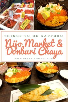 Have you tried the 3 coloured donburi, known as Sanshoku Donburi, which is mainly made up of Uni (sea urchin), Ikura (Salmon roes/eggs), Crab Meat, Salmon or Tuna Sashimi? Check out my review and pictures here...