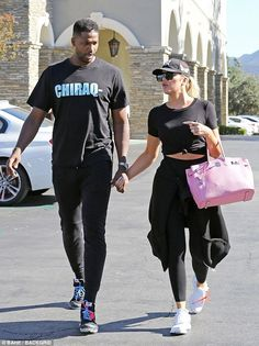 Khloe Kardashian and Tristan Thompson stepped out for a date in Los Angeles on Sunday They welcomed daughter True in April of this year. And on Sunday, Khloe Kardashian and Tristan Thompson stepped out for a date in Los Angeles. Tristan Thompson And Khloe, Khloe And Tristan, Khloe Kardashian And Tristan, Kardashian Family, Khloe Kardashian Outfits, Kardashian Wedding, Kardashian Jenner, Khloe Baby, Jenner Style