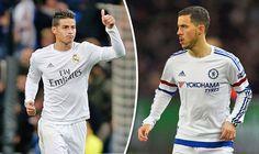 Real dùng Rodriguezđể đàm phán với Chelsea vụ Hazard ~ Kết quả bóng đá 247