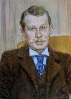 Theo van Rysselberghe, Portrait by deflam