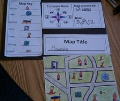 Map Skills: Make Your Own Map Project | Map projects, Worksheets ...