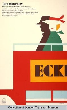 Tom Eckersley, 1984 - London Transport Museum