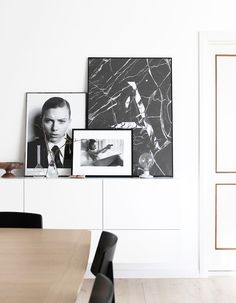 Art photography / prints in a beautifully captured Danish homePhotography Johanne Dueholm