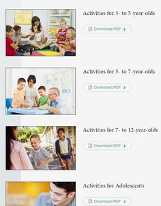 Harvard's Executive Functions Activities Guide- 18 months to adolescence