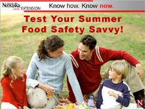 Test Your Summer Food Safety! Can you answer the questions correctly? Online slideshow & FREE downloadable PowerPoint