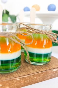 Jungle Safari Party Jello #jungle #jello