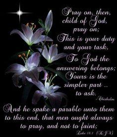Luke 18:1 KJV