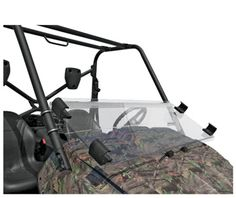 UTV Headquarters - Kawasaki Teryx 750 Folding Windshield