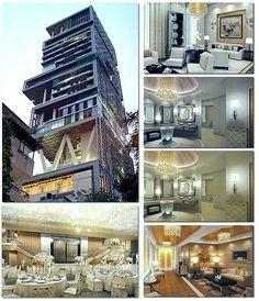 Mukesh Ambani World\'s richest House - $ 27 Billion !!!! | mukesh ...