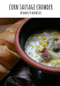 corn sausage chowder