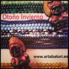 El primer bocadito de la nueva #Campaña #Otoño de #ArtAbalori...en unos días presentamos las piezas #moda #joyas #minerales
