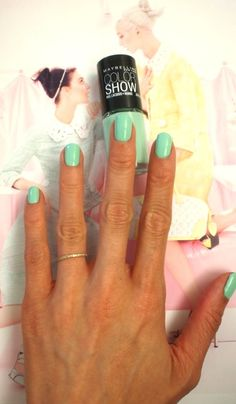 Maybelline in Green With Envy
