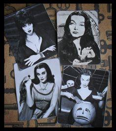 Vintage Horror Vixens via Aberrant Affixments