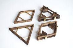 Sticks+Stones - SIMONE FERKUL-CA walnut and brass jewelry