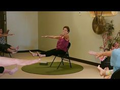 Hr) Lively Chair Yoga Class with Tatis Cervantes-Aiken at Yoga Vista Senior Fitness, Yoga Fitness, Health Fitness, Easy Yoga For Beginners, Yoga For Seniors, Chair Exercises, Aerobic Exercises, Workouts, Getting Ready To Move