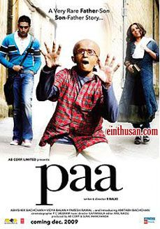 Paa Hindi Movie Online - Amitabh Bachchan, Abhishek Bachchan and Vidya Balan. Directed by R. Balki. Music by Ilaiyaraaja. 2009 Paa Tamil Movie Online.