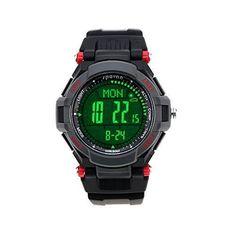 Lixada Spovan Multifunktions Uhr Outdoor Sports Digital LED-Armbanduhr - http://uhr.haus/lixada/rot1-lixada-spovan-multifunktions-uhr-outdoor