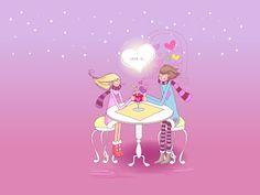 Banco de Imágenes: 16 dibujos de amor para el Día de San Valentín (14 de Febrero) (shared via SlingPic)