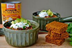Crock Pot Pumpkin Chili | www.kissmybroccoliblog.com