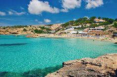 Traveling to Ibiza? Take advantage of Save Ibiza, a website that promotes sustainable and affordable local tourism on the island San Antonio Ibiza, Bora Bora, Beautiful Islands, Beautiful Beaches, Ibiza Strand, Eivissa Ibiza, Valencia City, Ibiza Beach, Ibiza Town