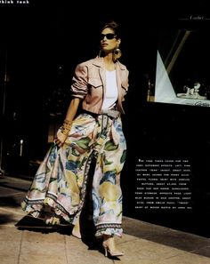 'Think Tank' from Harper's Bazaar March 1992