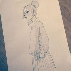 08052016 #art #artwork #artworks #draw #drawing #drawings #illust #illustration #sketch #pencil #instagood #love #photooftheday #girl #boy