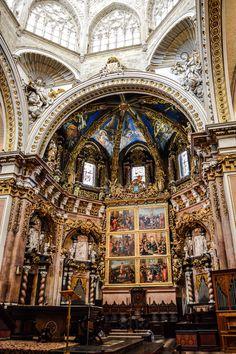 Altar de la Catedral de Valencia (Valencia - Spain)