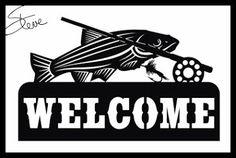 Scrollsaw Workshop: Welcome Sign Scroll Saw Pattern.