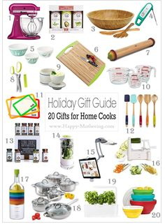 Do you have any home cooks on your Christmas list? If you do, then you'll want to check out our Holiday Gift Guide for Home Cooks for some great ideas.