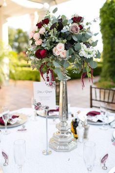 Floral Wedding Centerpieces Planning and Tips - Love It All Wedding Table Centerpieces, Wedding Flower Arrangements, Flower Centerpieces, Floral Arrangements, Wedding Bouquets, Wedding Decorations, Centerpiece Ideas, Wedding Ideas, Wedding Designs