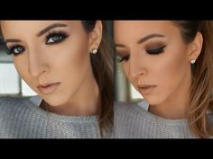 Morphe 35O Palette | Soft Smokey Eyes | GRWM | Ashley Landry - YouTube